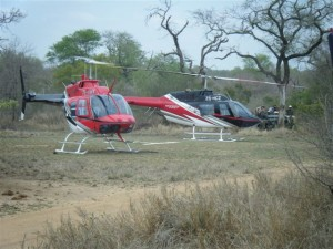 helicopter charters lowveld