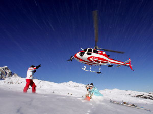 helicopter mountain fly and courses